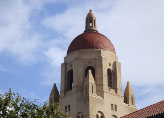 Hoover Tower, Stanford University campus